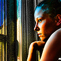 Girl Contemplating by Jeff Folger