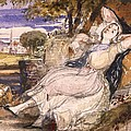 Girl Dreaming by Richard Redgrave