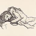 Girl by Egon Schiele