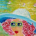 Girl In Sun Hat by Deborah Burow