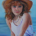 Girl In The Straw Hat by Susan Duda