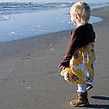 Girl On Beach by Greg Graham