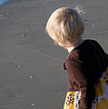 Girl On Beach II by Greg Graham