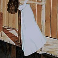 Girl On Dock by Judy Swerlick