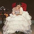Girl Reading by Alfred Emile Stevens