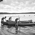 Girl Scout Canoe Test by Underwood Archives