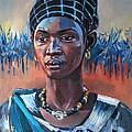 Girl South Sudan by Mohamed Fadul