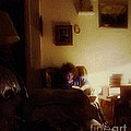Girl With A Book by RC DeWinter
