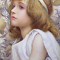 Girl With Apple Blossom by Henry Ryland