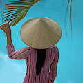 Girl With Conical Hat, Nha Trang by Keren Su