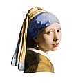 Girl With Pearl Earring Flip Side by Peter Lloyd