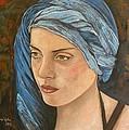 Girl With Turban by Giosi Costan