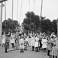 Girls Playground 1899 by Steve K