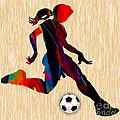 Girls Soccer by Marvin Blaine