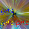 Give Give Give by Deprise Brescia