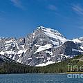 Glacier National Park Mountain by David Arment