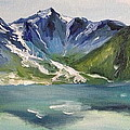 Glacial Lake by Christy Collins