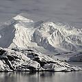 Glaciated Peaks Anvers Isl Antarctica by Matthias  Breiter