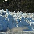Glacier Calving by Lew Davis