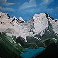 Glacier Lake by Sharon Duguay