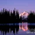 Glacier Peak Sunrise On Image Lake by Tracy Knauer