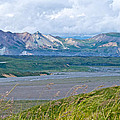 Glaciers And Mountains From Eielson Visitor's Center In Denali Np-ak  by Ruth Hager