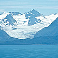 Glaciers In Kenai Range Over Kachemak Bay In Homer-ak- by Ruth Hager