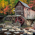 Glade Creek Grist Mill 3  by Emmanuel Panagiotakis