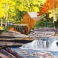 Glade Creek Grist Mill by David Bartsch