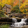 Glade Creek Grist Mill by Gerald DeBoer