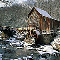 Glade Creek Grist Mill In West Virginia by David Davis