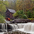 Glade Creek Waterfall by Marcia Colelli