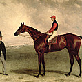 Gladiateur With Harry Grimshaw Up And His Owner Count Frederic De Lagrange by Harry Hall