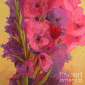 Gladiolas No. 1 by Melody Cleary