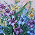 Gladiolus by Natalie Holland