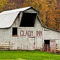 Glady Inn Barn Wv by Kathleen K Parker