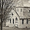 Glady Presbyterian Sepia by Steve Harrington