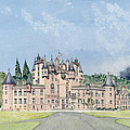 Glamis Castle Tayside  by David Herbert