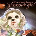 Glamour Girl-4 by Kathy Tarochione
