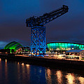 Glasgow - River Clyde At Night by Tommy Dickson