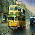 Glasgow Tram. by Mike  Jeffries