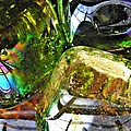 Glass Abstract 119 by Sarah Loft