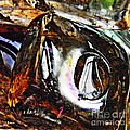 Glass Abstract 125 by Sarah Loft