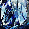 Glass Abstract 140 by Sarah Loft
