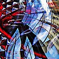 Glass Abstract 220 by Sarah Loft