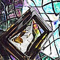 Glass Abstract 309 by Sarah Loft