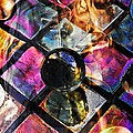 Glass Abstract 393 by Sarah Loft