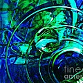 Glass Abstract 477 by Sarah Loft