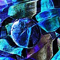 Glass Abstract 483 by Sarah Loft
