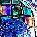 Glass Abstract 490 by Sarah Loft